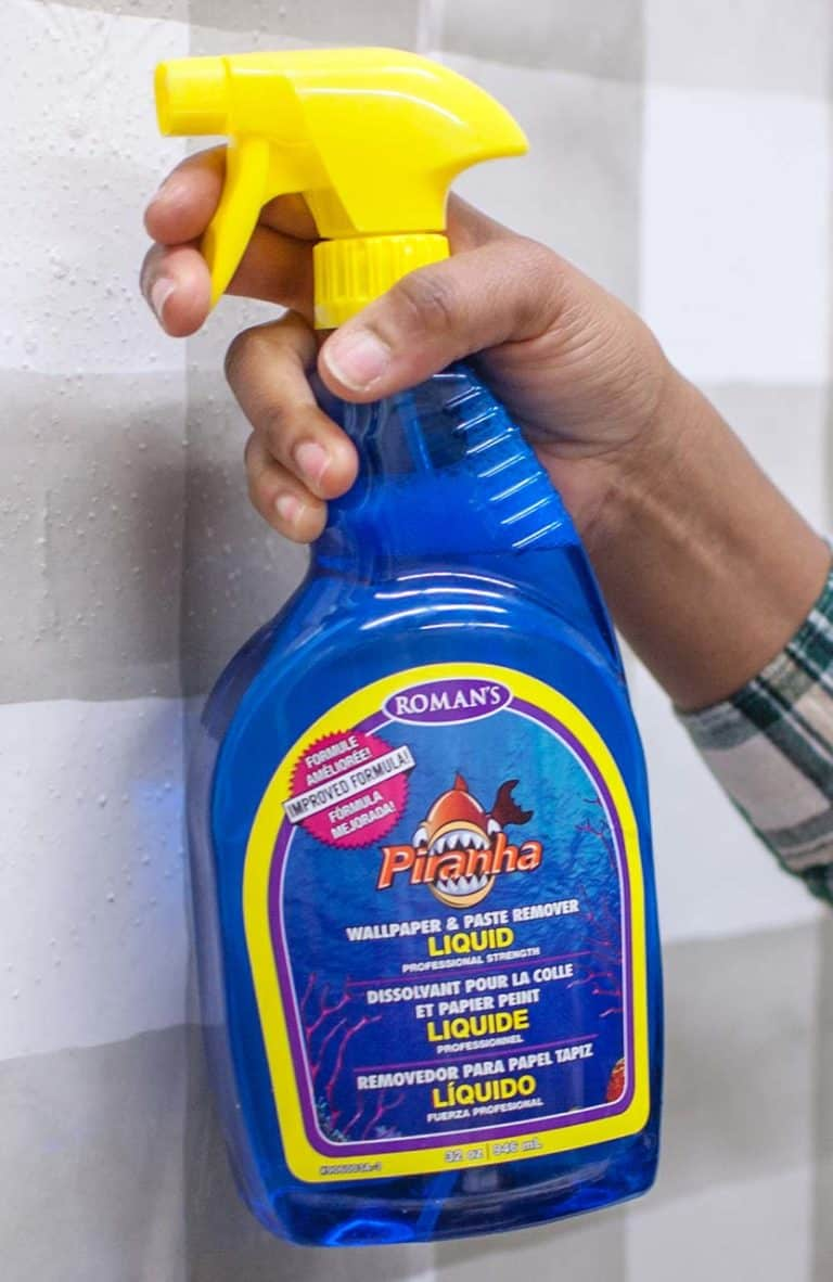 Liquid Wallpaper Spray Remover PIRANHA™ - ROMAN Products