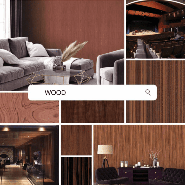 Wood Wallcoverings with Roman